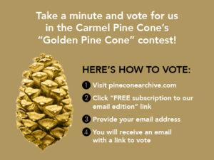 downtown dining monterey golden pine cone award